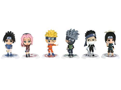 CoolChange Set de Figuras en Forma de Personajes de Naruto