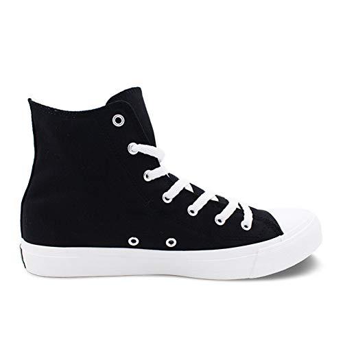 De Talón Amantes Redondo Cordones Primavera Mujer A Alpargatas Negro Blanco De De Zapatillas La De Lona Comodidad La Exing Zapatos Otoño Plano qZOawTI