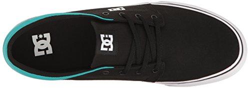 Dc Mens Trase Tx Unisex Skate Shoe Zwart / Turquoise