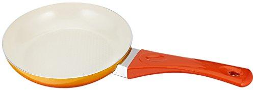 Uniware Super Quality Ceramic Non-stick Frying Pan, Unique Gradient Color (7.9 Inch, Orange)