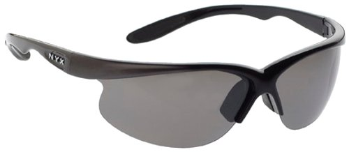 NYX Classic Competition Sunglass (Black Frame/Dark Gray Deflector - Nyx Sunglass