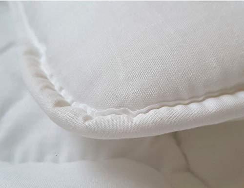 Baby-Bettw/äscheset aus Bettdecke 80/x 70/cm und Kissen mit F/üllung aus 100/% Baumwolle f/ür Babybett oder Kinderwagen