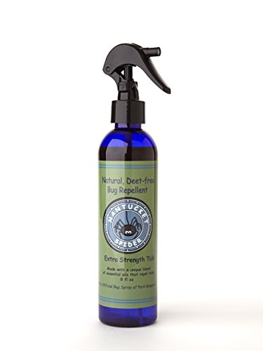 (Nantucket Spider Extra Strength Best Natural DEET Free Tick Repellent Spray  (8 Ounce Trigger Spray) Organic Essential Oil Tick Repellant For Humans, Adults, Kids, Horses)