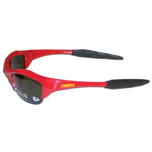 NFL Kansas City Chiefs Half Frame Sunglasses ()