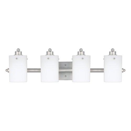 Quoizel AN8541ES Adano Empire Silver 4 Light (Adano 1 Light Bath)