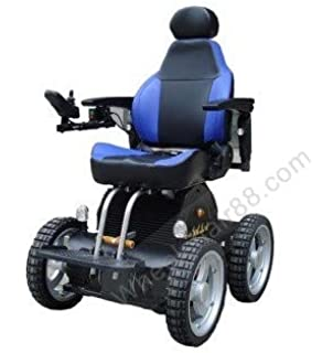 Amazon.com: Silla de ruedas eléctrica plegable con elevador ...