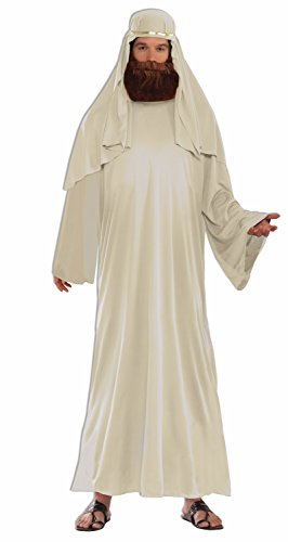 [Forum Men's Value Biblical Robe, Ivory, Standard] (Adult Nativity Costumes)