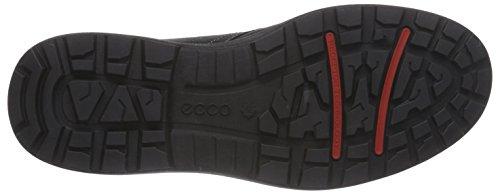 Ecco Whistler - Zapatillas de Deporte para Exterior de Cuero Hombre Negro (Black2001)