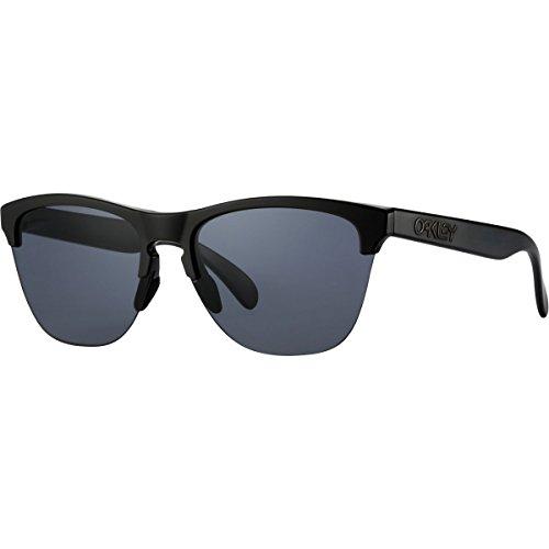 Oakley Frogskins Lite Sunglasses, Matte Black/Gray,OS by Oakley