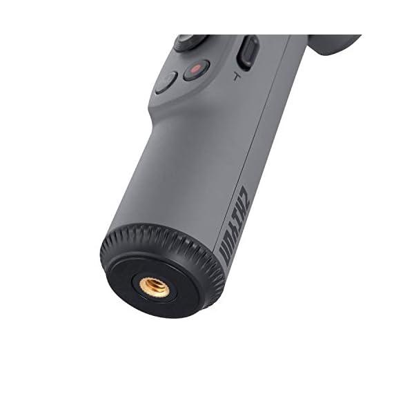 ZHIYUN Smooth-X Ufficiale Smartphone Pieghevole Stabilizzatore del Giunto Cardanico Stick per Selfie Vlog Youtuber (Grigio) 5 spesavip