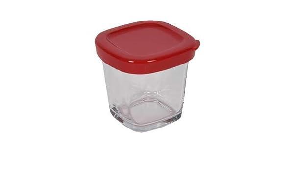 Tefal Moulinex - Tarro de cristal para cocina o yogurtera Multi Delice YG65: Amazon.es: Hogar