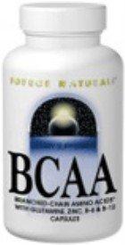 Source Naturals BCAA Direction générale des Chanined acides aminés, 120 Capsules