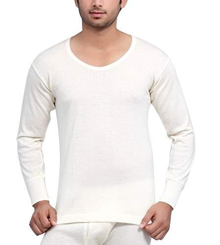 19ea3435b5 Monte Carlo Men s Pure Wool Thermal Full Sleeves (TOP) (Off White ...