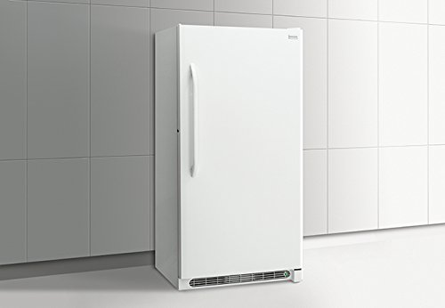 FFFH17F2QW 34 Upright Freezer with 17 cu. ft. Capacity 4 Wire Shelves Power-On Indicator Light Adjustable Temperature Control Lock with Pop-Out Key and Energy Star Qualified in White