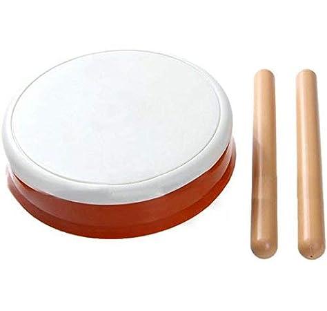 OSTENT Taiko No Tatsujin Drum Sticks Compatible para Nintendo Wii Console Controller Video Game: Amazon.es: Videojuegos
