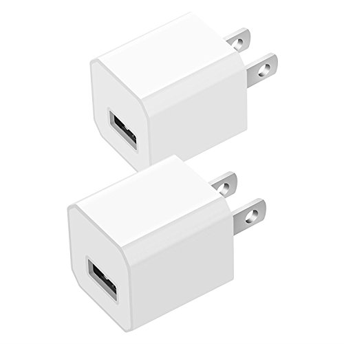 Cheap Wall Chargers USB Wall Charger, Certified USB 5W 1A Mini Universal Portable Travel Power..