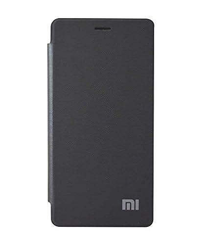 the best attitude d02fe 6de31 COVERNEW Flip Cover for Xiaomi Mi4 - Black