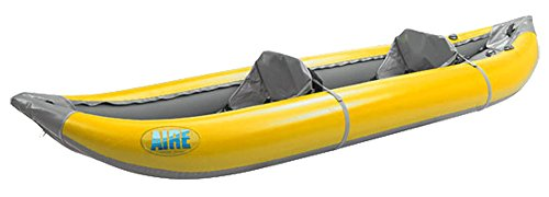 AIRE Outfitter II Inflatable Kayak-Yellow