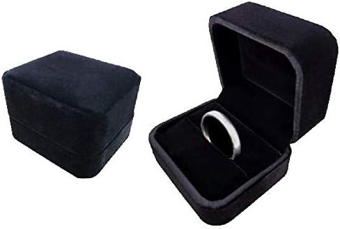 リタプロショップⓇ リングケース ブラック 指輪入れ 指輪ケース ジュエリーケース ジュエリーボックス 収納[