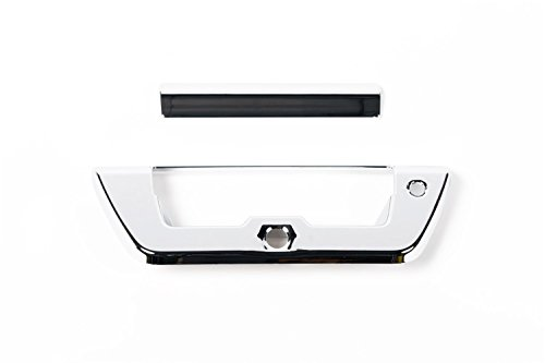 Putco 401079 Tailgate Handle Cover Chrome Chrome w/Pull Handle And Camera w/LED Opening Tailgate Handle Cover