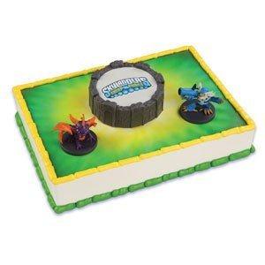 3 Count, Skylanders Themed Cake Topper Kit