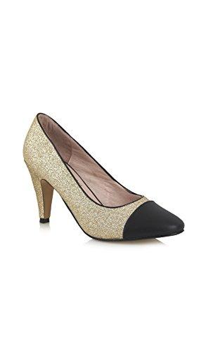 Yull Shoes Escarpins Borough - Femme Doré ddRkMm