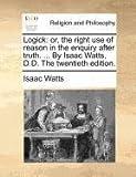 Logick, Isaac Watts, 1171165544