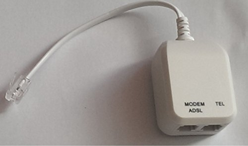 Filter Modem (Tgomtech In-line DSL Filter with Splitter)