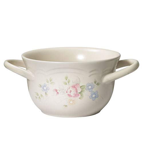 Pfaltzgraff Tea Rose Double Handled Soup Bowl
