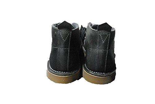 Jack & Jones - Botas de Ante para hombre negro (gris antracita)