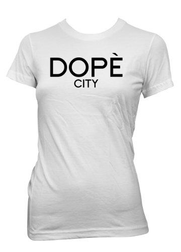 Dopè City T-Shirt Girls White