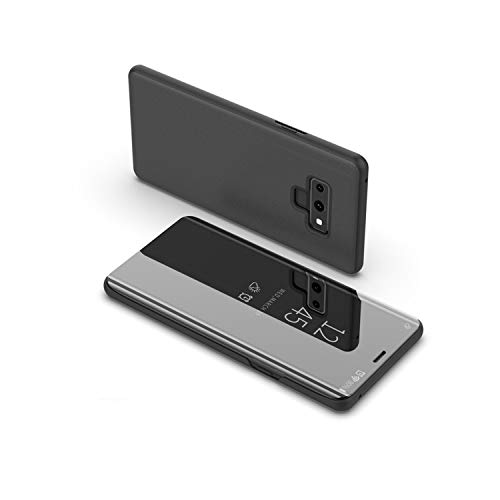 Smart Mirror Flip Phone Case xczwx Galaxy S9 S10 S8 S7 S6 Edge Plus S10E Clear View Cover xczwx Note 9 8 5 4 3 Case,Black,xczwx S10 - Earrings 10k Zircon