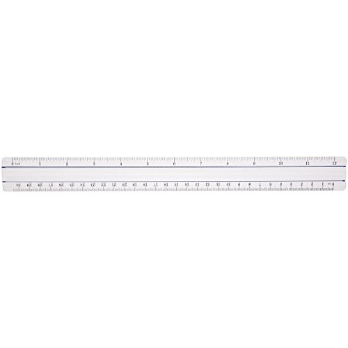 Westcott Clear 12'' Data Processing Magnifying Ruler , Case Of 72 (500-15571) by Westcott