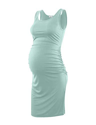 Maternity Dress, Sage M