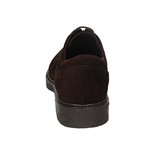 de pour Marron homme ville RIVERTY à lacets Chaussures 6w4AAqX5