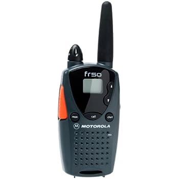 amazon com motorola fr50 2 mile 14 channel frs two way radio cell rh amazon com Motorola RAZR V3 Manual Motorola DVR Manual