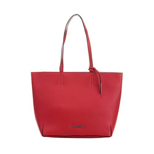 Rouge Klein Calvin Ew Shopper Cabas Stitch HXUHZqnT