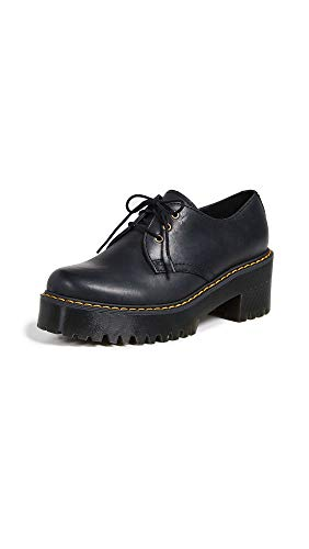 Dr. Martens Women's Shriver Lo Platform, Black, 5 M UK (7 US)