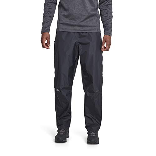 Berghaus Men's Deluge Pants, Black, X-Large/Size 31