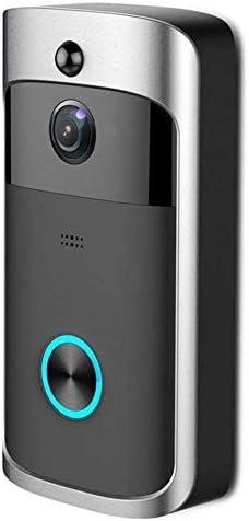 M3 WIFIスマートビデオドアベル、ナイトビジョンワイヤレスポータブルホームドアベルコードレス電話インターホンスマートホームパーツ