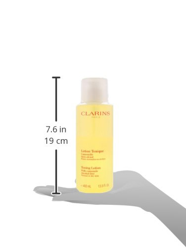 Clarins Toning Lotion for Unisex, Dry to Normal Skin, 13.5 Ounce