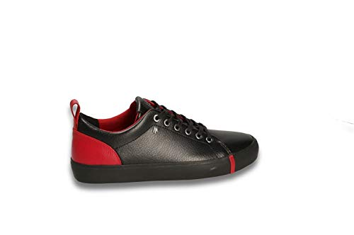 Black Armani Donna 36 N red Exchange Sneakers Tqq0rwA8a