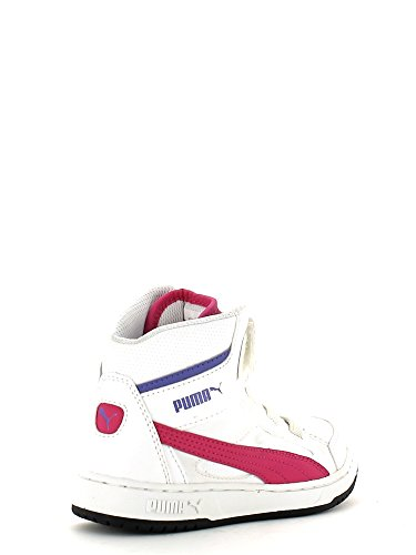 Zapatillass Rebound v2 Hi KIDS white-purple 14/15 Puma 28 white-purple