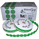 BUTTON KAP PLUS COLLATED Plastic Caps FOR THE RN78134, 240 each, 10 coils by Auto Kap