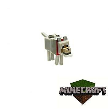 Minecraft - Llavero con figurita articulada de un lobo ...