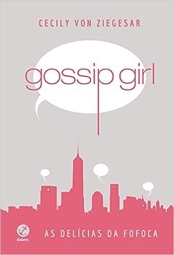 livro gossip girl as delicias da fofoca para