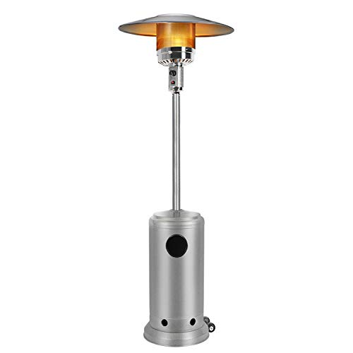 Bathonly Environmentally Safe Patio Heaters Garden Heater with Wheels for Moving Around, Tilt Auto Off Setting,38000BTU Outdoor Heater...