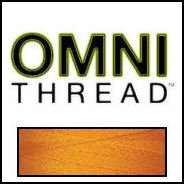 Superior Threads - Omni #3055 Orange Glow 6,000 Yds. Poly-Wrapped Poly Core. -