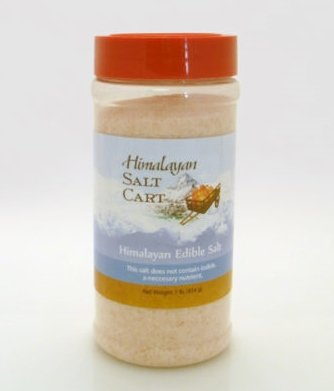 1 lb HIMALAYAN PINK CRYSTAL SALT fine grind table jar shaker refill GRANULATED