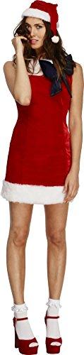 Fever Women's Miss Santa Cutie Costume, Multi, Medium